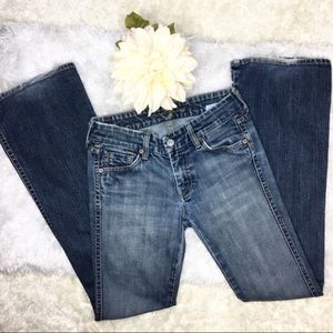 7 For All Mankind-A Pocket flare 26x32 jean cdj042